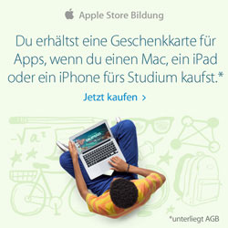 Apple Back-to-School Aktion 2014