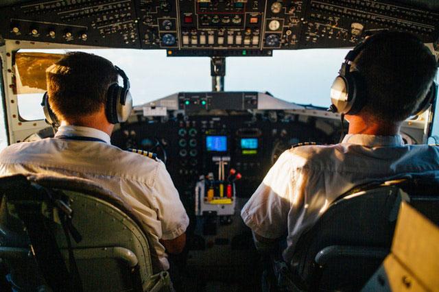 Ausblidung zum Piloten