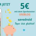 savedroid – Die App zum Sparen und Wünsche erfüllen