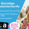 LTE Handytarife bei Tarifhaus: Für Studenten kostenlos